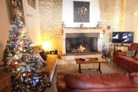 House 15p, warmed private pool, spa, near Chablis - Roffey