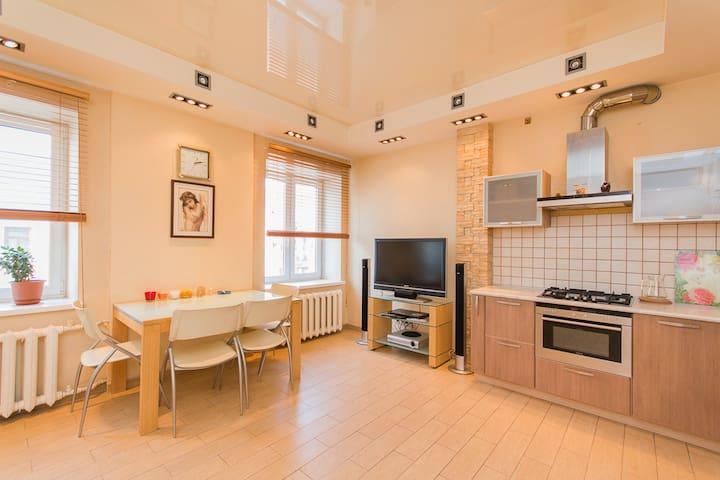 БП30а Modern 2room apt in the very center - Nizhniy Novgorod - Appartement