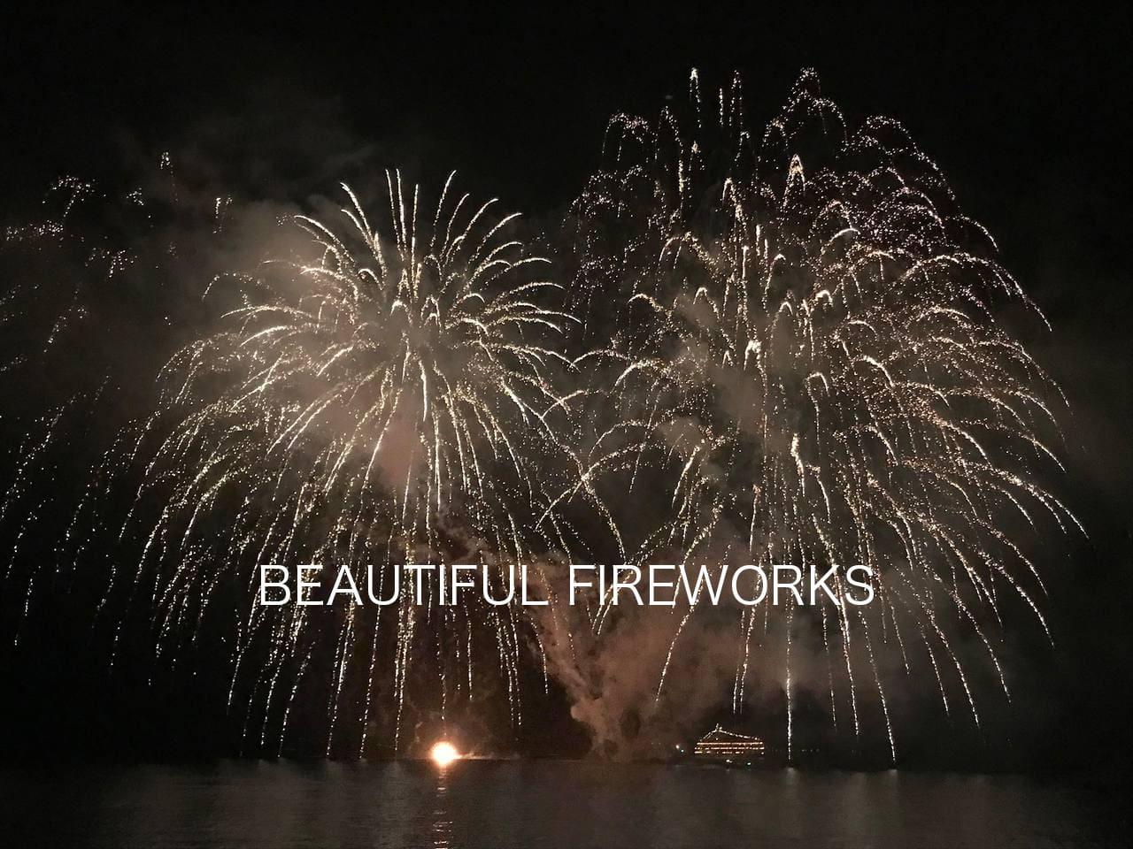 MainStreet, Lake TOYA 1min !!, Amazing Fireworks
