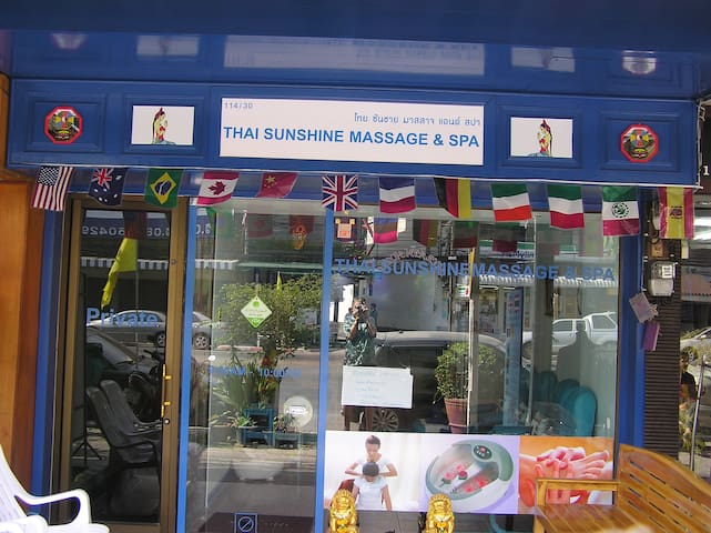 Thaisunshine Guesthouse & Massage  Room 5