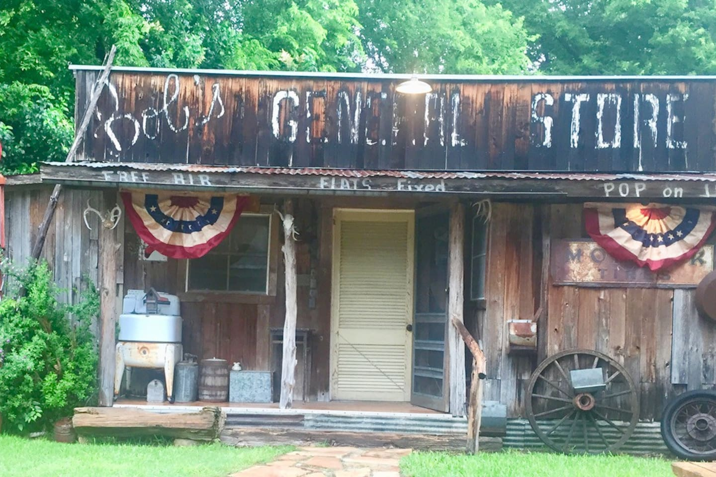 Your quarters for the evening...The General Store is not just a room, it's an experience.