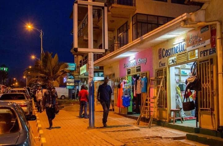 Nyamirambo a nice area to stay in Kigali.
