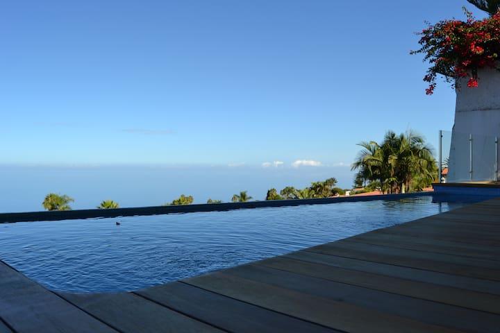 Casa Ocean View bonitas vistas sobre el Valle. - Santa Úrsula