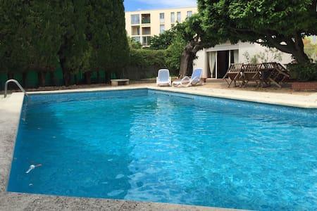 Charmant appartement avec piscine - Leilighet