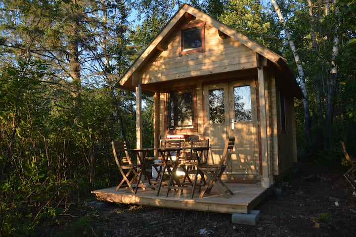 Aster Waterview Cozy Cabin at Wild Woods Hideaway