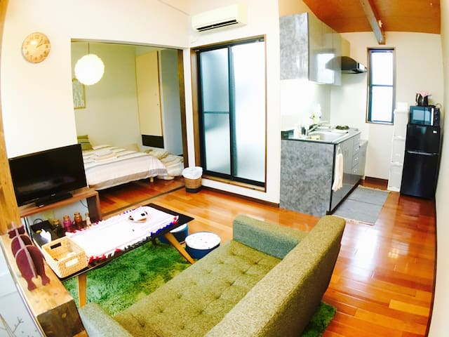 N1.Near Shibuya! Spacious room for MAX6 people. - Meguro-ku - Apartment