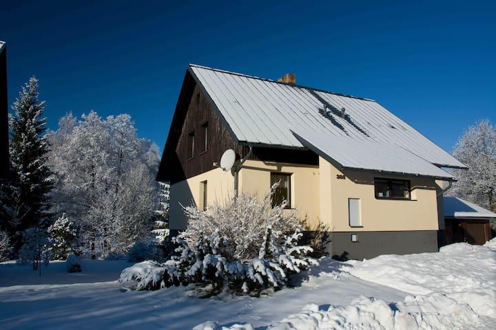 Ubytování Nad potokem Deštná - Deštné v Orlických horách - Leilighet