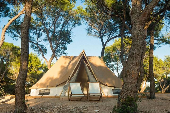 1-2 Person Classic Bell Tent