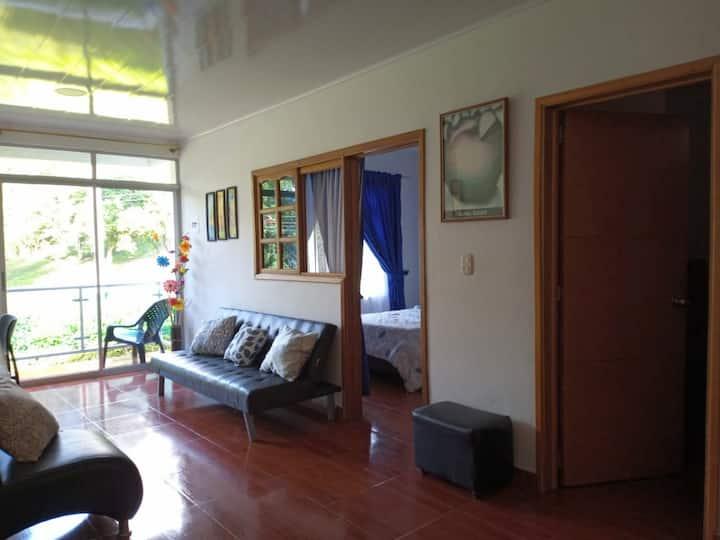 Acogedor apartamento en zona tranquila de Villeta