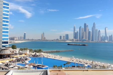 Beachfront spacious 2 brm apartment Palm Jumeirah - Dubai