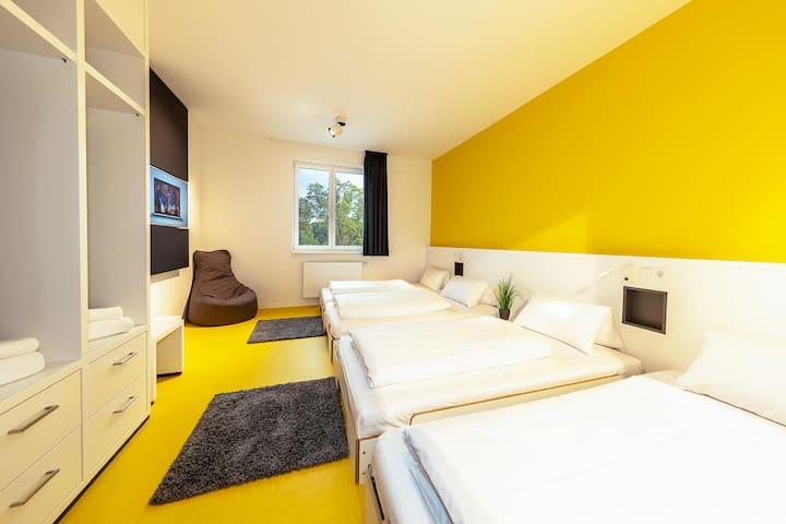 Twin Room für bis zu 4 Personen