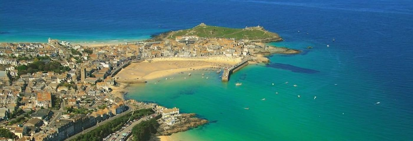 Sea views, dog friendly, parking - Saint Ives - Apartament