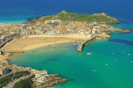 Sea views, dog friendly, parking - Saint Ives
