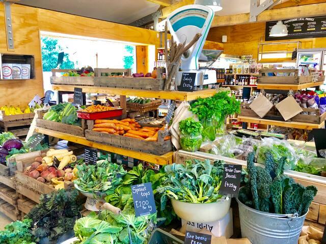 Local farm shop