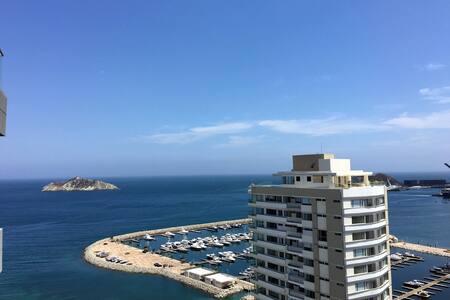 Spectacular Views from Luxury Oceanside Apartment - Santa Marta - Wohnung