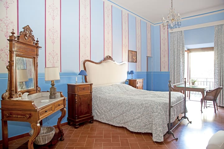 B&B in historical villa Chianti & pool - Barberino Val - Bed & Breakfast