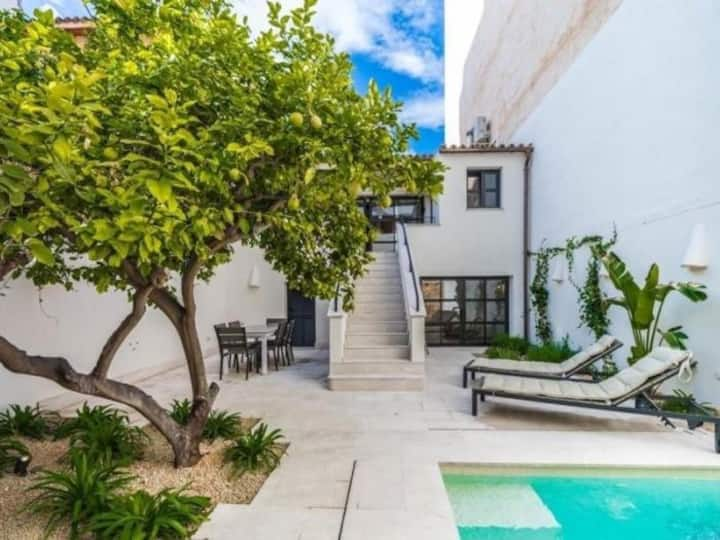NEW¡ Can Montis - house with private swimming pool in Palma
