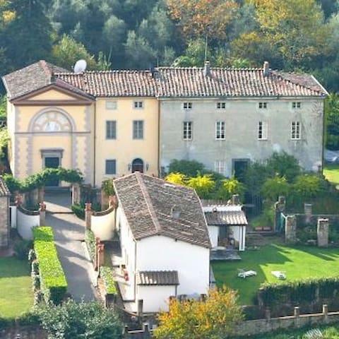 18th Century Villa Olivier near Lucca
