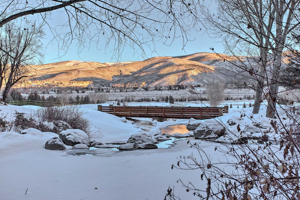 Enjoy your own Rocky Mountain winter wonderland from this Beaver Creek condo!
