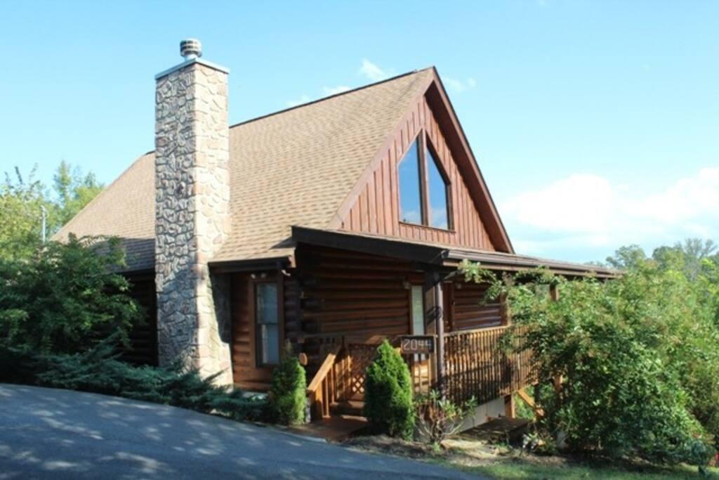 Eagles haven cabin blockh tten zur miete in sevierville for Eagles view cabin sevierville tn