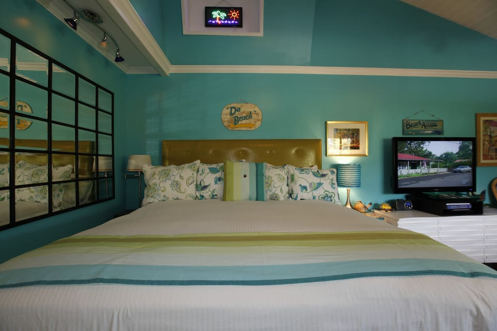 Our guests constantly say this is the most comfortable bed they have ever slept on...