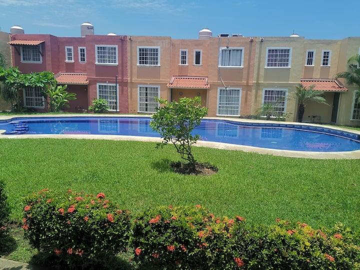¡Casa en renta en Ixtapa!