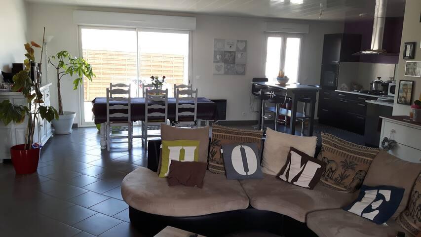 Agréable maison de vacances - La Tremblade - Hus