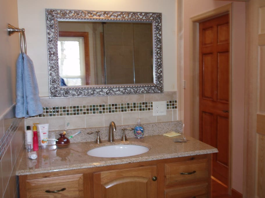Guest bathroom, sometime shared by our guest if staying over the  weekend.