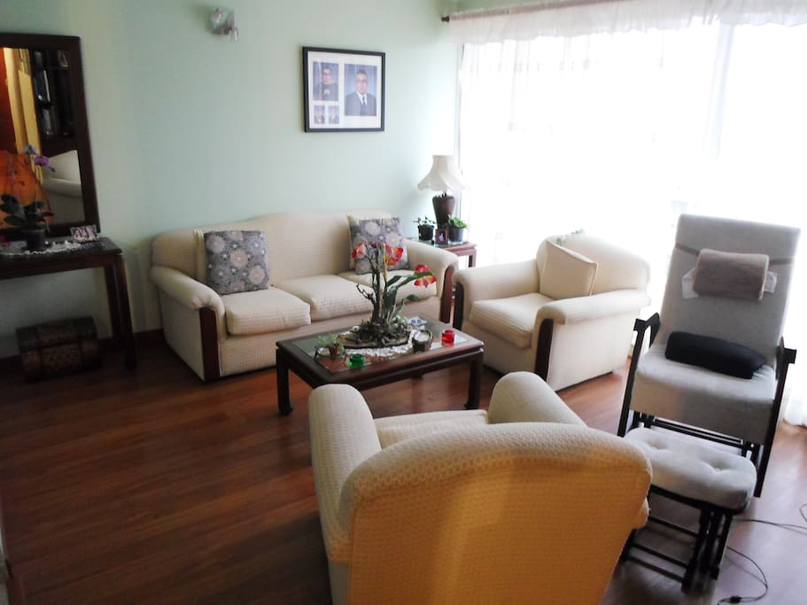 Large living room for your comfort