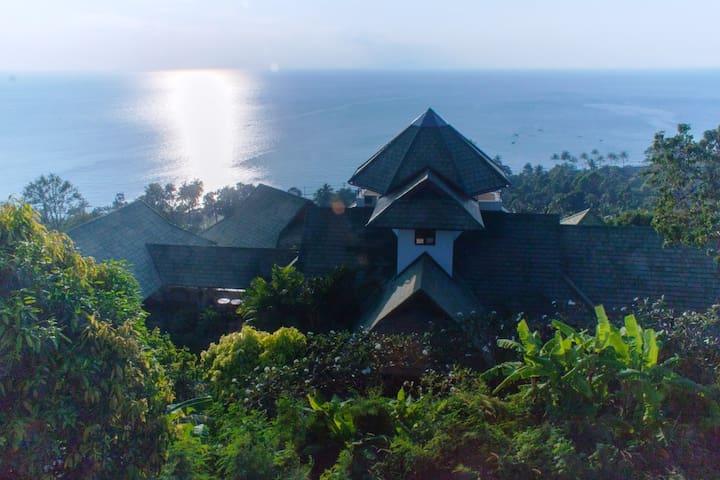Samui Sunset Pavilions Luxury Villa - Tambol Angthong - Casa