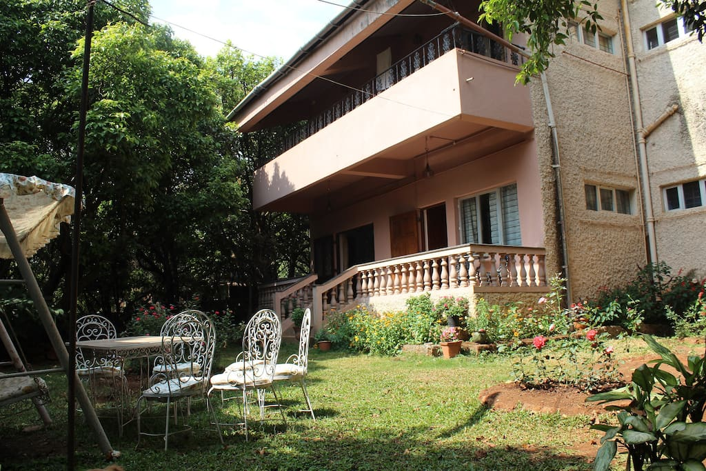 Parsi owned and furnished family home