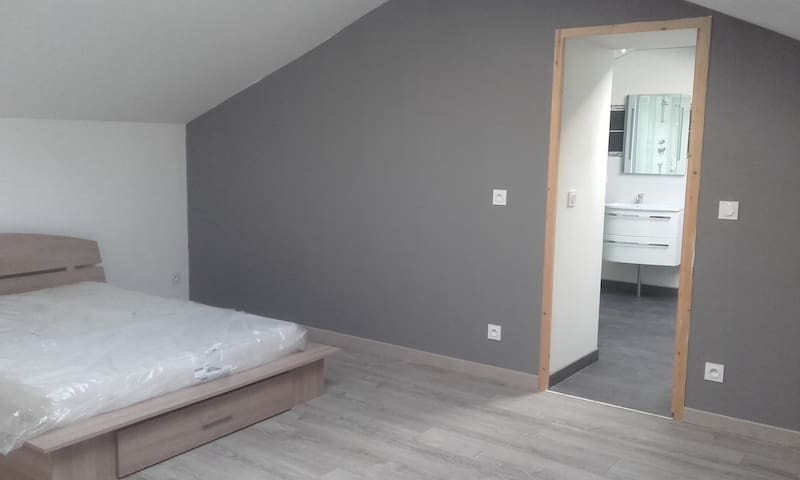 Gite PIM - La Tour-Saint-Gelin - Apartament