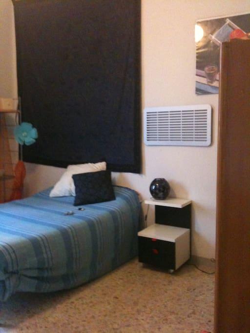 Camera da letto di oltre 21 mq