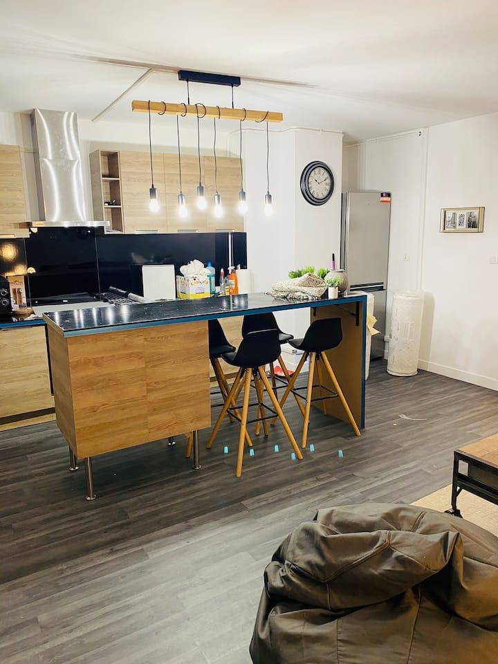 Appartement lumineux proche de paris