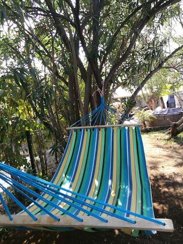 Maisonnette jacuzzi jardin privés proche du lagon - La Saline-Les-Bains - House