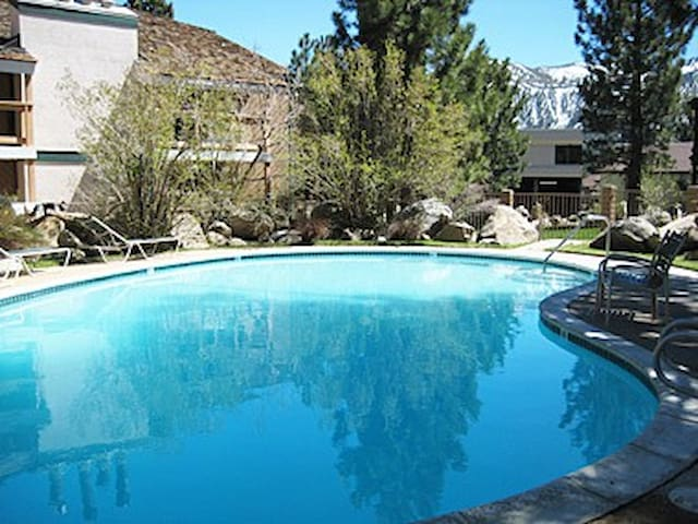 """Pool in the summer...the """"other"""" great season in Mammoth"""