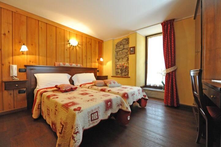 Bed & Breakfast in Valle d'Aosta -2 letti