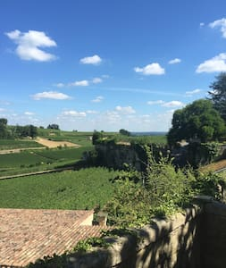 House - heart of Saint Emilion with amazing view - Dom