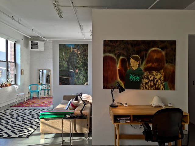 Very Large, Airy, and Bright Loft -Williamsburg