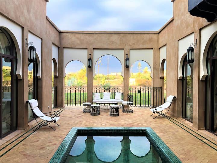 Villa Mayrit, Villa estilo Riad en entorno único