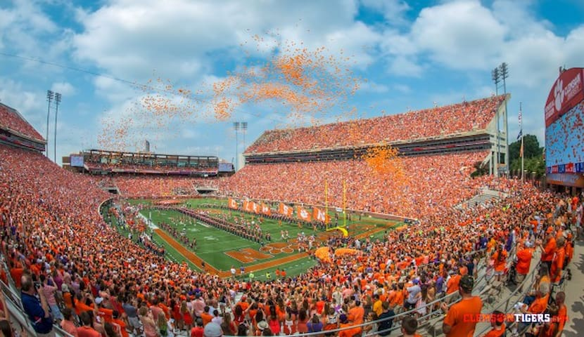 Clemson Game Dates Available w/ Downtown Parking!
