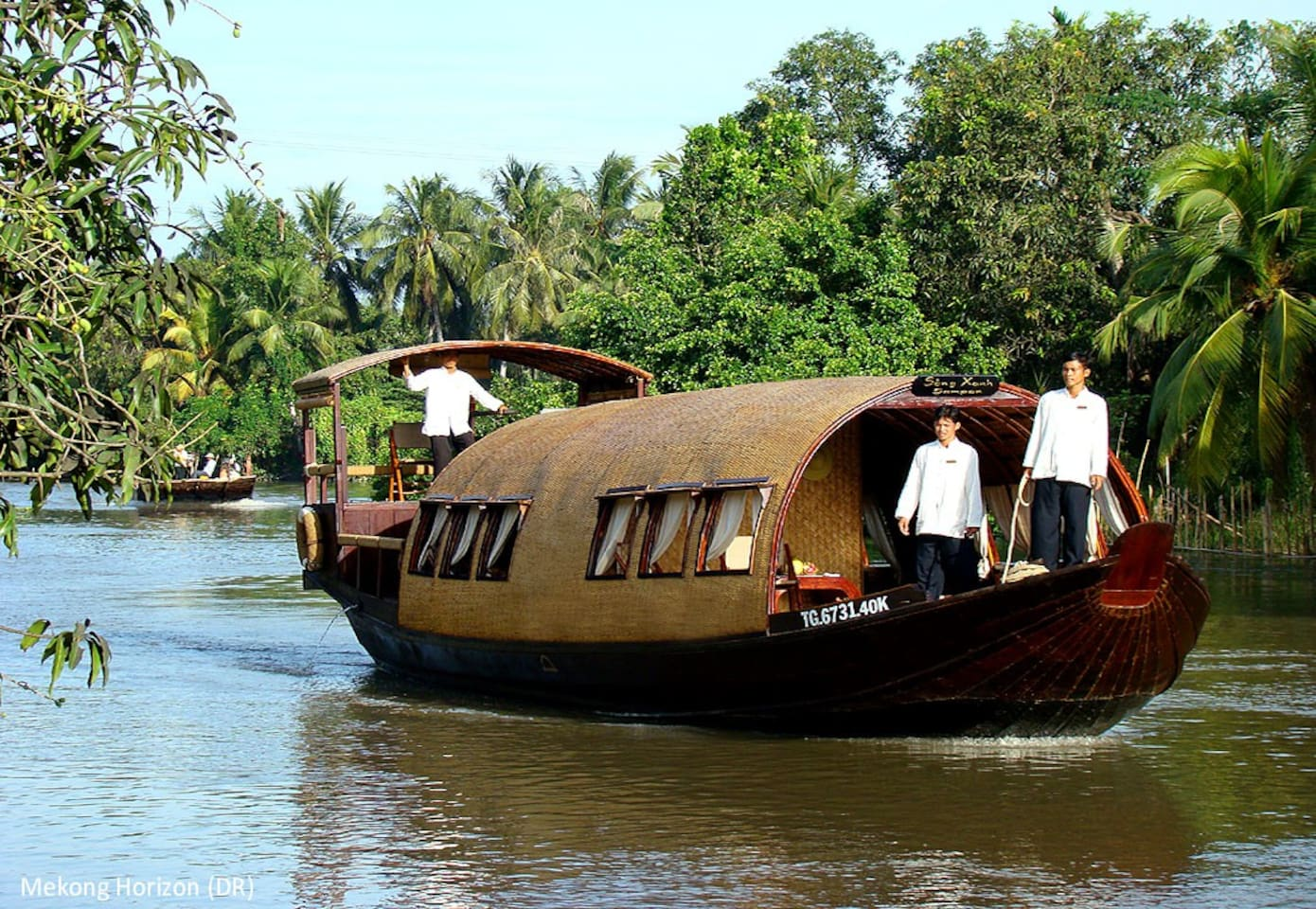 Boat trip from HCM to Mekong Delta