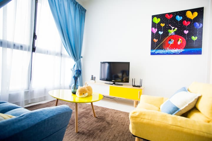 ** Educity Legoland colourful cozy suite for 2 pax