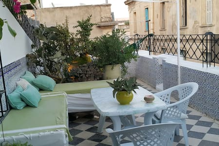 Charming flat City Center & terrace