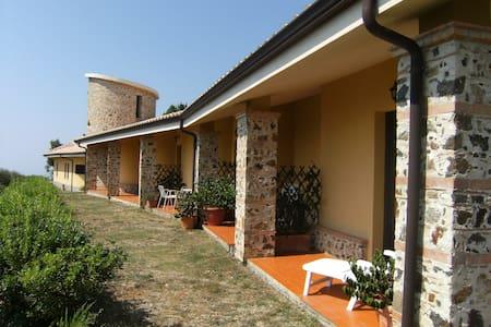Agriturismo Calabria S. Italy  - Monterosso Calabro - Apartamento