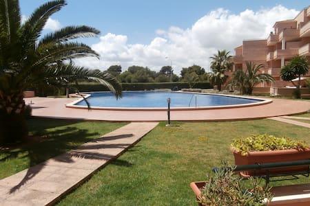 1 Zimmer Wohnung mit Pool - Sa Coma