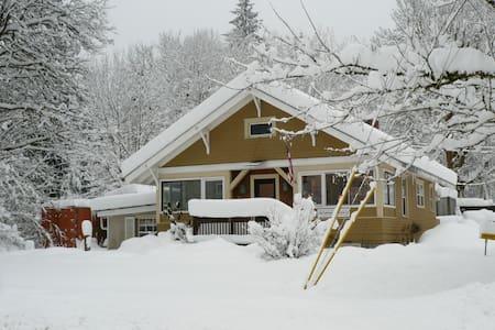 Gma's house in the Heart of Glacier - 冰川(Glacier)