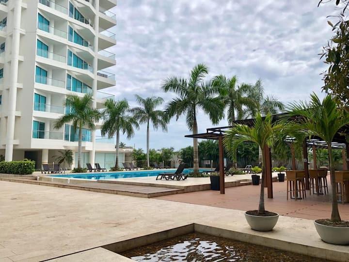 Luxury apartaments 2. Frente a la playa