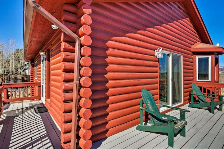 NEW! Mountain Retreat w/ Furnished Deck & Yard!