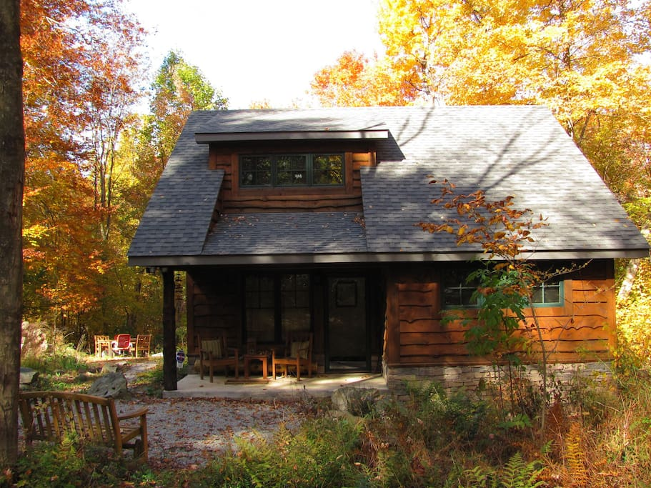 Cozy cabin in the laurel highlands cabins for rent in for Cozy cabins pa